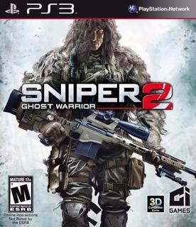 Sniper Ghost Warrior 2 Ps3 Original - Play Perú