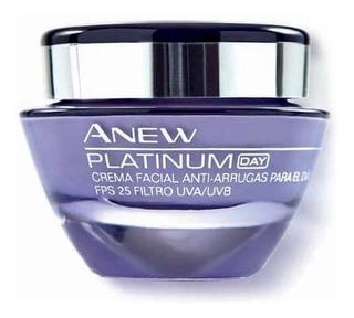 Crema Facial Anti-arrugas Platinun Day Avon Oferta!!!