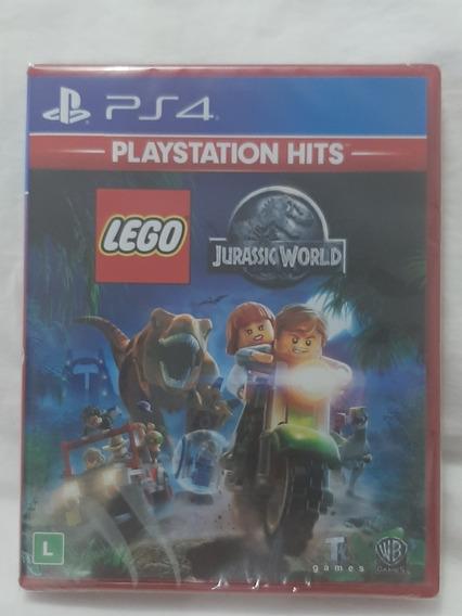 Jogo Ps4 Lego Jurassic World Pt Mídia Fisica Orig Novo Lacr