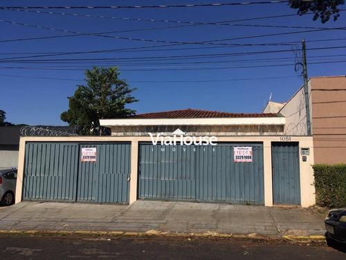 Casa Com 3 Dormitórios Para Alugar, 267 M² Por R$ 4.500,00/mês - Jardim Sumaré - Ribeirão Preto/sp - Ca0184