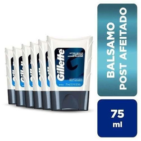 Pack X6 Bálsamo Gillette After Shave 75 Ml.