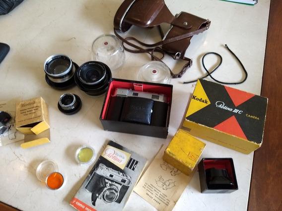 Camera Kodak Retina Iiic Impecável