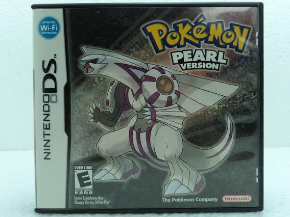 Pokemon Pearl Version - Não Acompanha Manuais - Ótimo Estado