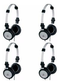 Fone De Ouvido Mini Headphone K414p Profissional Kit 4 Und