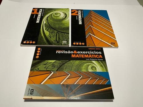 Imagem 1 de 2 de Projeto Voaz - Matemática - Ensino Médio Kit Com 3 Unidades