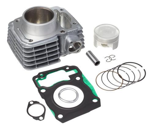 Imagem 1 de 4 de Kit Motor Cilindro Pistão Anéis Cg Titan Fan 150 Ano 04 / 15