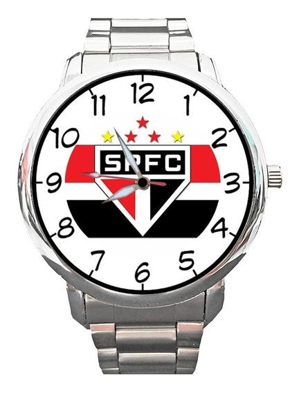 Relógio São Paulo Futebol Spfc Tricolor Morumbi Independente