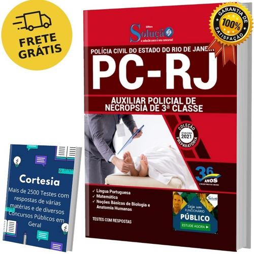 Apostila Auxiliar De Necrópsia Pc Rj (solução)