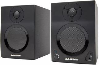 Samson Bocinas Mediaone Bt3 Studio Monitores Bluetooth