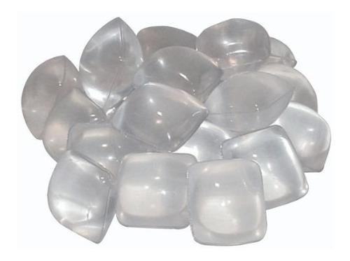 Gelo Artificial Reutilizável Pote Com 20 Unidades Cubo