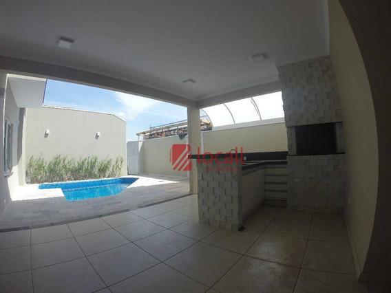 Casa Residencial À Venda, Parque Residencial Damha V, São José Do Rio Preto. - Ca0993