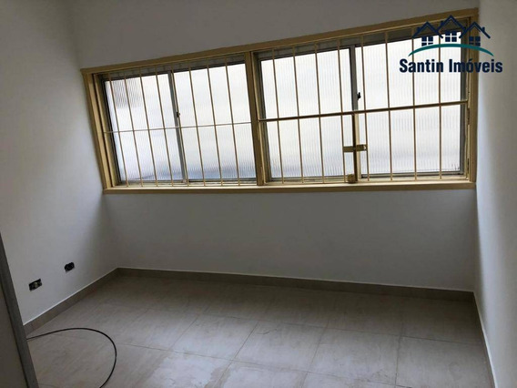 Apartamento De 41 M² Com 01 Dormitório À Venda, Por R$ 190.000 - Centro - Santo André/sp - Ap1099