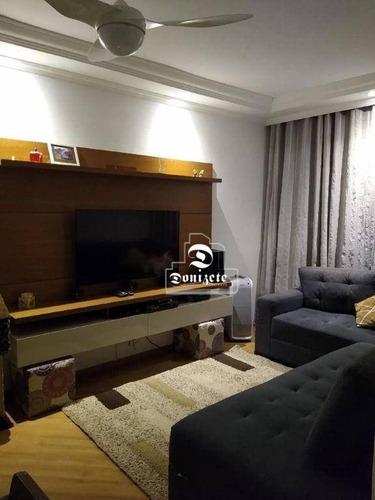 Imagem 1 de 22 de Apartamento Com 2 Dormitórios À Venda, 58 M² Por R$ 220.000,00 - Vila Tibiriçá - Santo André/sp - Ap16498