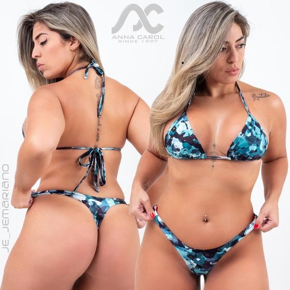 Conjunto Fio Dental Coleção 2019 Bikinis Anna Carol Bac-4