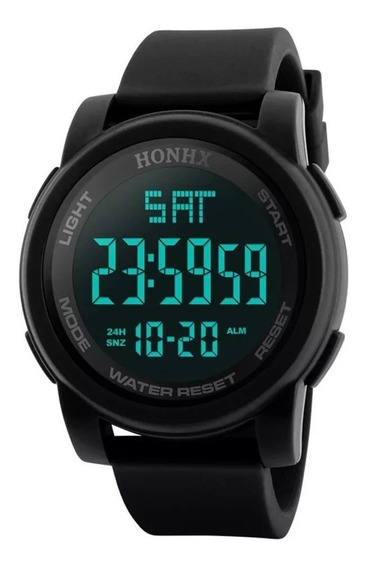 Relógio Esportivo Masculino Digital Led