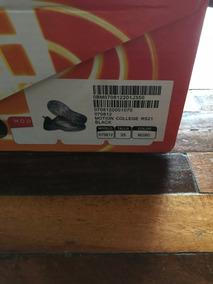 Zapatos Rs21 Escolares Negros De Cierre Magico Niño Talla 35