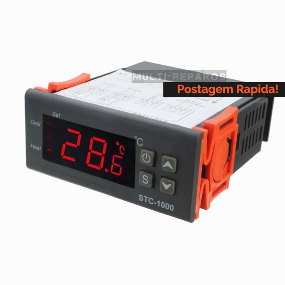 Controlador De Temperatura Digital Para Cervejeiro Stc1000
