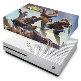Capa Xbox One S Slim Anti Poeira Fortnite Battle Royale