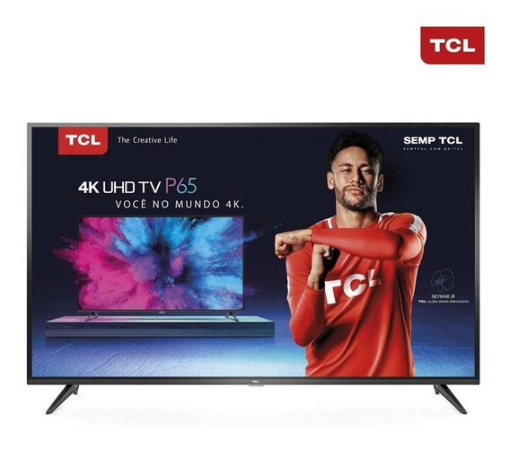 Smart Tv Led 65 Semp Toshiba 4k Wi-fi Usb Hdmi 65p65us
