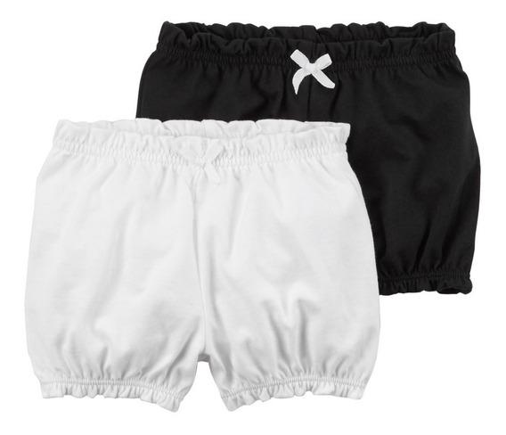 Set 2 Short Nena Pantalon Conjunto Carters Mercado Importado