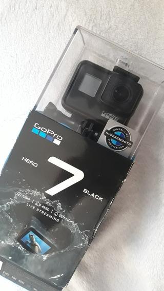 Gopro Hero 7 Black + Caixa Estanque + 3 Way + Boia