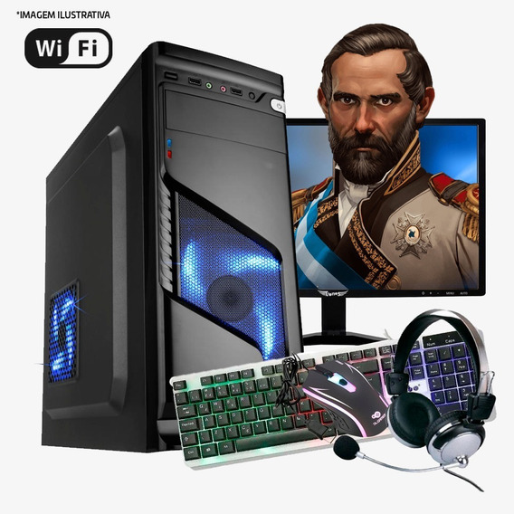 Pc Gamer Completo I7 4ª,16gb Ram Ddr3,ssd 480gb,rx 570 8 G
