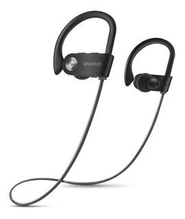 Wavefun X-buds Fone Bluetooth 5.0 Ipx7 Preto Com Cinza