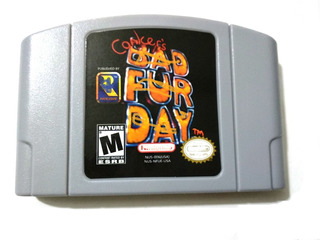 Conker´s Badd For Dayy N64 (repro) Videojuegos Rock
