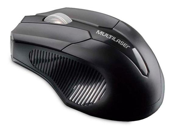 Mouse sem fio Multilaser MO264 preto