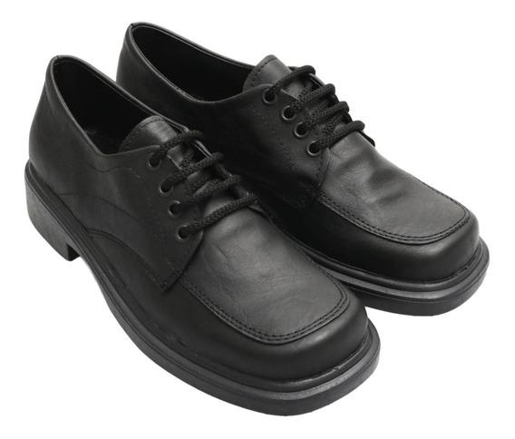 Zapatos Nenes Nenas Unisex Colegial Unisex Acordonado Calfa6