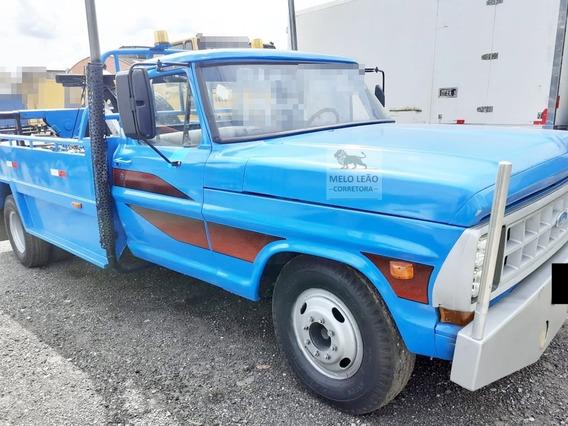 F-4000 -79/80 - Guincho P/ Veículos Leves, Restaurado, Azul*