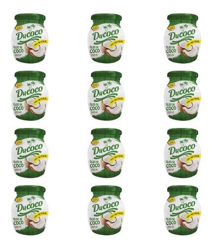 Ducoco Óleo De Coco 200ml (kit C/12)