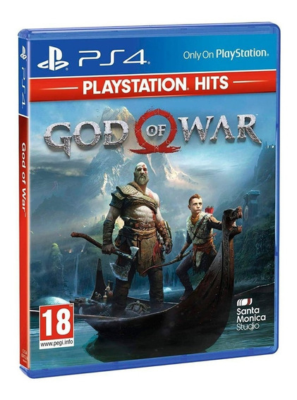 God Of War 4 Hits Ps4 Midia Fisica Original Lacrado