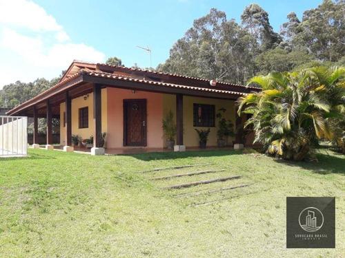 Chácara Com 3 Dormitórios À Venda, 1450 M² Por R$ 550.000,00 - Residencial Alvorada - Araçoiaba Da Serra/sp - Ch0012