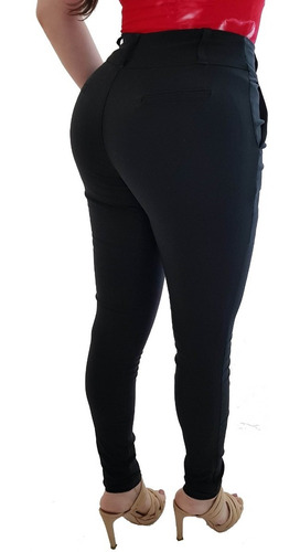 Pantalon Mujer Vestir Stretch Entubado Majo Moda Mercado Libre