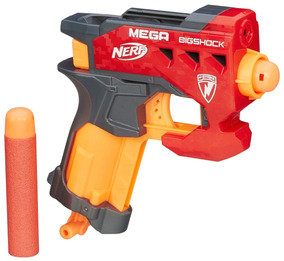 Lançador De Dardo Nerf Mega Big Shock Hasbro