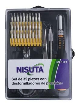 Herramientas - Kit De 35 Piezas - Lupa+alicate+etc Nisuta