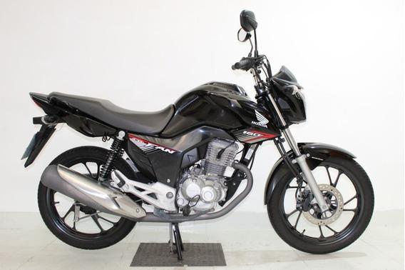 Honda Cg 160 Fan 2019 Preta