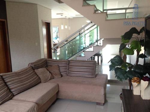 Casa Residencial À Venda, Condomínio Campos Do Conde, Paulínia - Ca1330. - Ca1330