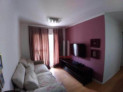 Apartamento Com 2 Dormitórios À Venda, 59 M² Por R$ 320.000 - Vila Prudente - São Paulo/sp - Ap2923