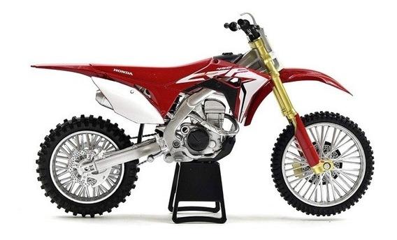 Moto Honda Crf 450 R Motocross Cross Escala 1:12 New Ray