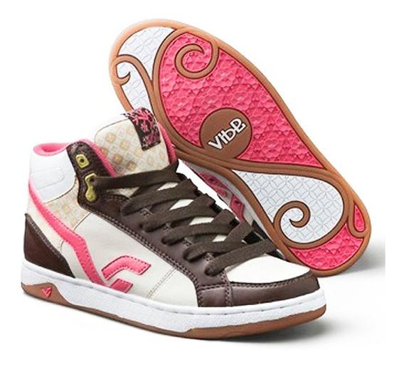 Zapatillas De Mujer Marca Vibe Botitas En Promoción Baratas