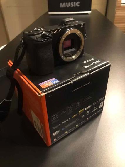 Câmera Mirrorless Sony A6300 Corpo