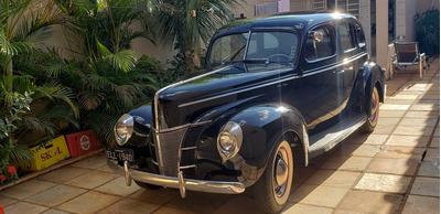 Ford 1940 4 Portas De Luxe