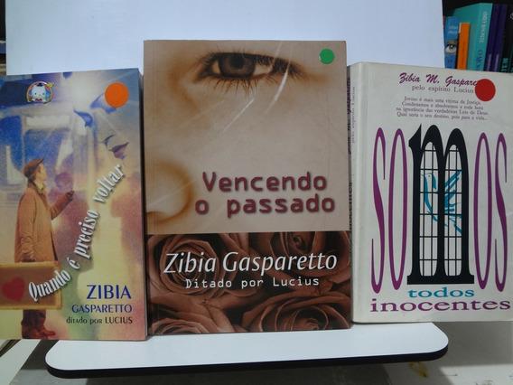 3 Livros De Zibia Gasparetto Vencendo O Passado E Outros