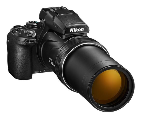 Câmera Nikon Coolpix P1000 4k Zoom 125x Com Nota Fiscal