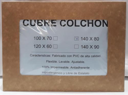 Funda Cubre Colchon Pvc Para Cuna Charriot