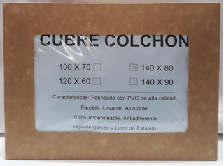 Funda Cubre Colchon Pvc Para Practicuna