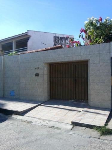 Casa Com 5 Dormitórios À Venda, 180 M² Por R$ 370.000,00 - Maraponga - Fortaleza/ce - Ca0404
