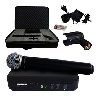 Shure Blx24/b58 Micrófono Beta 58 Inalámbrico De Mano Nuevo